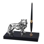 Chinelli Подставка для ручки деревянная с фигуркой льва 2113200