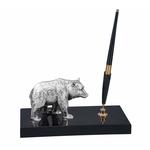 Chinelli Подставка для ручки деревянная с фигуркой медведя 2113300