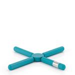 Blomus Подставка под горячее раскладная (голубая) 68745