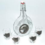 Artina SKS Набор для водки 5 предм. 16240 (олово 95%)