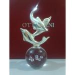 "Ottaviani Статуэтка ""Дельфины на шаре"" 23541"
