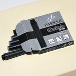 Parker Картридж Quink Ink Z17 Mini для перьевых ручек черные 6шт S0767220