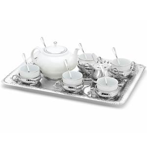 Chinelli Чайный набор на 6 персон на прямоугольном подносе 2207300