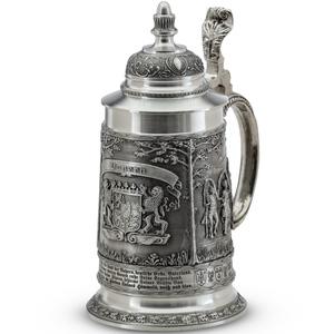 "Artina SKS Кружка для пива ""Бавария"" h20см, 0,7л. 60191 (олово 95%)"