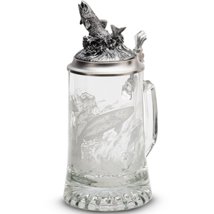 """Artina SKS Кружка для пива """"Рыба"""" 93403 (олово 95%)"""