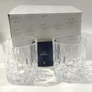 Chinelli Набор из 2 бокалов для виски 2005601/g