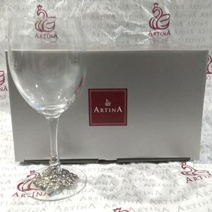 """Artina SKS Бокал для вина """"Виноград"""" 15538 (олово 95%)"""