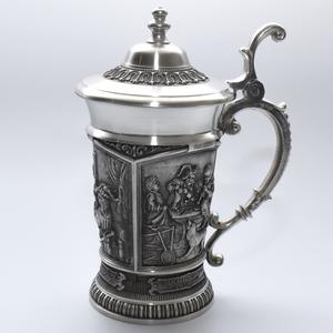 """Artina SKS Кружка для пива """"Шедевры"""" 12142 (олово 95%)"""