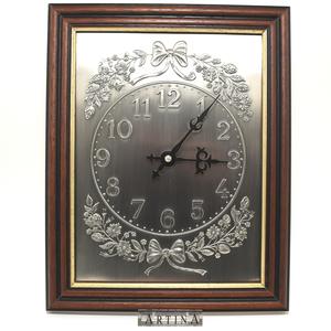 Artina SKS Часы в рамке 61117 (олово 95%)