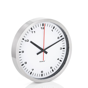 Blomus Часы настенные белые, диаметр 40 см. 63211