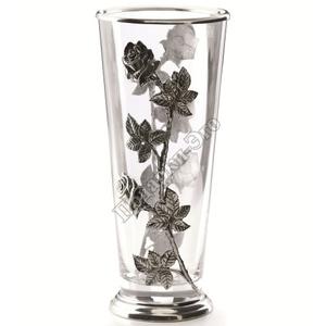 "Artina SKS Ваза ""Розы"" 61104 (олово 95% и стекло)"