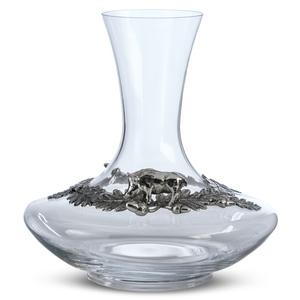 """Artina SKS Декантер """"Кабан"""" 60096 (олово 95% и стекло)"""