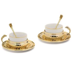 """Chinelli Чайный набор """"Cane"""" на 2 персоны 6226005"""