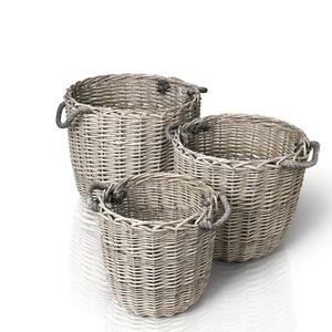 Blomus Набор из 3-ех плетеных корзин Canasta 65612
