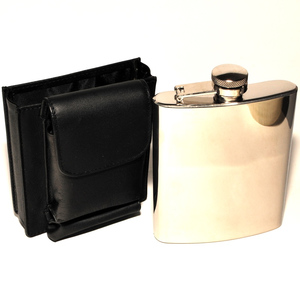Acron Фляжка + чехол для сигарет и зажигалки 884